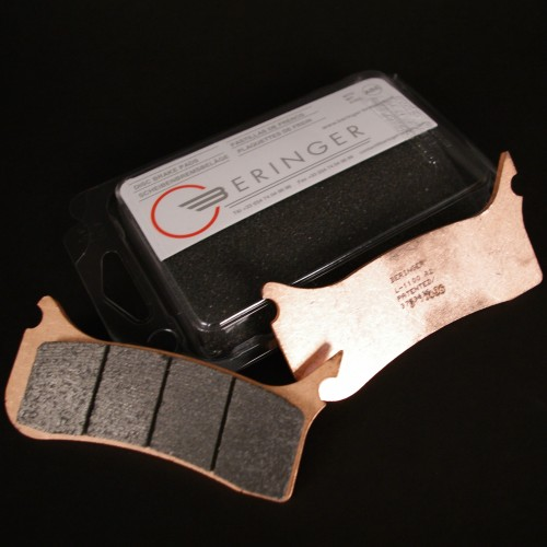 6 piston caliper brake pads